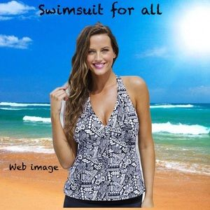 Swimsuit for all tankini top 22w new with tags